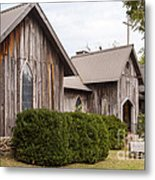 Wooden Country Church Metal Print