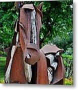 Wooden Horse16 Metal Print
