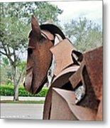 Wooden Horse26 Metal Print