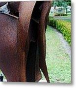 Wooden Horse5 Metal Print