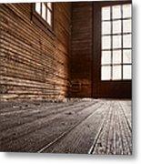 Wooden House Metal Print