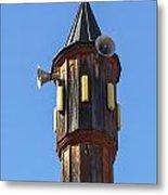 Wooden Minaret Metal Print