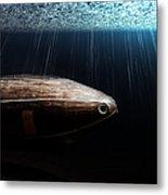 Wooden Submarine Ictineo II Dv Metal Print