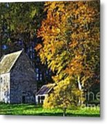 Woodhouses Bastle Northumberland - Photo Art Metal Print