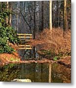 Woodland Bridge 2014 Metal Print