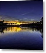 Woodland Park Sunset Metal Print