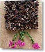 Woodpile Plus Metal Print