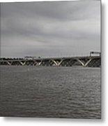 Woodrow Wilson Bridge - Washington Dc - 01131 Metal Print