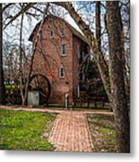 Wood's Grist Mill In Hobart Indiana Metal Print