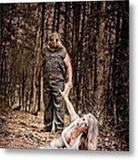 Woods Of Terror Metal Print