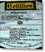 Woodstock Side 5 Metal Print