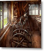 Woodworker - The Art Of Lathing Metal Print