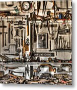 Woodworking Tools Metal Print