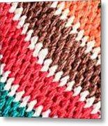 Wool Knitwear Metal Print by Tom Gowanlock