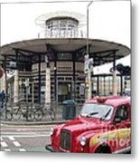 Woolwich Arsenal Train Station  Metal Print