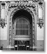 Woolworth Building Entrance Metal Print