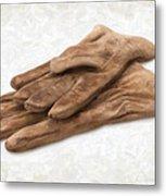 Work Gloves Metal Print by Danny Smythe