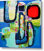 Work It Out Metal Print