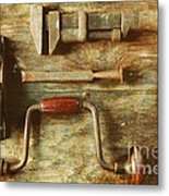 Work Tools Metal Print