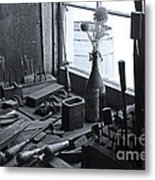 Workbench Metal Print