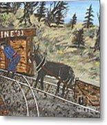 The Coal Mine Metal Print