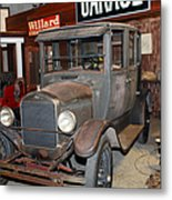 Working On The Old Ford Model T 5d25570 Metal Print