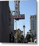 World Famous Gold And Silver Pawn Shop Metal Print