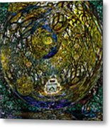 World In Crisis Calls For Peace Metal Print