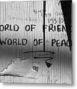World Of Friends Metal Print