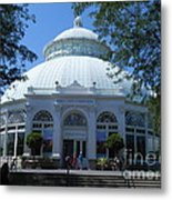 World Of Plants Building At The New York Botanical Gardens Metal Print