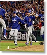 World Series - Chicago Cubs V Cleveland Metal Print