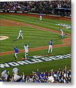World Series - Kansas City Royals V New Metal Print