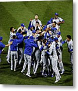 World Series - Kansas City Royals V New Metal Print