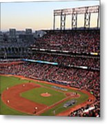 World Series - Kansas City Royals V San Metal Print