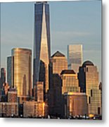 World Trade Center Freedom Tower Nyc Metal Print