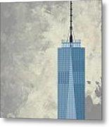 World Trade Center One Metal Print