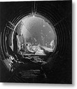 World War 2, Battle Of Britain. Subway Metal Print