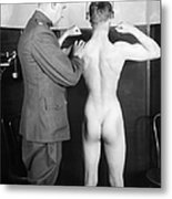 World War I: Examination Metal Print