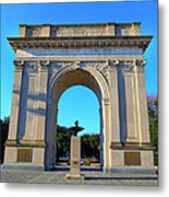 World War I Victory Arch Newport News Metal Print