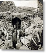 World War I: Wounded, 1918 Metal Print