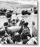 World War II: D-day, 1944 Metal Print