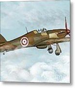 world war II plane Metal Print
