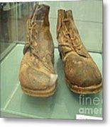 World War One Boots Metal Print