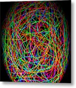 World Web Metal Print