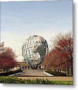 World's Fair Globe Corona Park  Metal Print