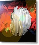 Wormhole Predator Metal Print