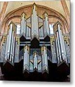 Worms Cathedral Organ Metal Print