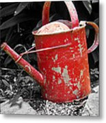 Worn And Weathered Metal Print