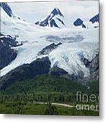 Worthington Glacier Metal Print