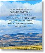 Worthy Are You Jesus Metal Print